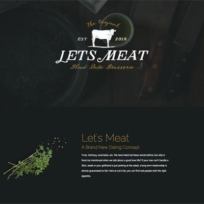 Web Design - Let's Meat