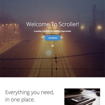 Web Design - Scroller